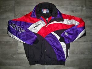 Vintage Polaris Snowmobile Sled Insulated Racing Women's Jacket Coat Size Large
