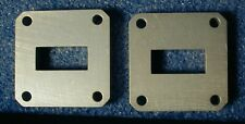 Wr-90 Wr90 flange spacer waveguide, 0.3 inch thickness