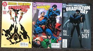 Titans Young Justice Graduation Day 2003 DC Comics Winick Garza Scott lot nm