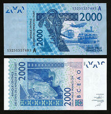 WEST AFRICAN STATES, IVORY COAST 2000 FRANCS 2015 (2003), UNC, P-116A