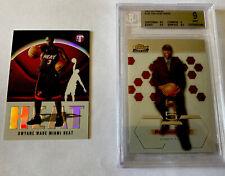 2003-04 Topps Pristine Refractor Finest XRC Dwyane Wade Miami Heat RC Rookie