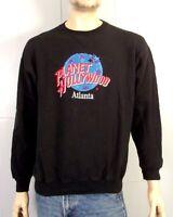 vtg 80s 90s Planet Hollywood Atlanta GA Sweatshirt Sewn Logo USA sz XL