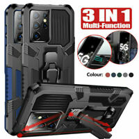 For Samsung Galaxy S21,S21 Plus,S21 Ultra Case shockproof Hybrid Stand Cover