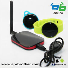 Indoor tracking testing pack 1Wireless iBeacon Receiver + 2pcs wristband beacon