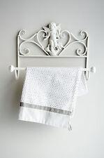 Clayre & Eef Handtuchhalter Handtuchstang Engel Badregal Shabby Vintage Landhaus