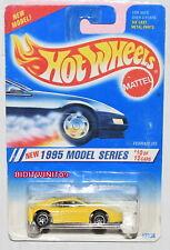 HOT WHEELS 1995 MODEL SERIES FERRARI 355 YELLOW #350