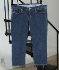 GAP Women's Jeans Low Rise Straight Leg Size 12P  31P Dark Wash