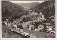 Ansichtskarte Blick auf das Luisenthal im Thüringer Wald - Ortsansicht - s/w