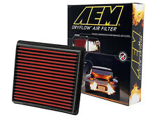 AEM 28-20298 STOCK REPLACEMENT WASHABLE REUSABLE PANEL AIR FILTER [MADE IN USA]