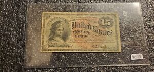 1864 .15c Cents Fractional Currency !! Higher Grade !! Rare !!