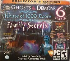 Ghosts & Demons 6 Pack Collector's Edition PC Games Windows 10 8 7 XP Computer