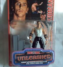 Kidman Figur + Treppe + Funktion WCW Unleashed,ca.16 cm Wrestling---Neu,OVP,RAR