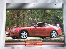 Toyota Supra Dream Cars Card