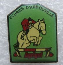 Pin's Ecuries D'ARBOUVILLE Agrigel SAut d'Obstacle Cheval Jockey  #1912