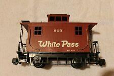BACHMANN Big Hauler G-Scale WHITE PASS CABOOSE #903
