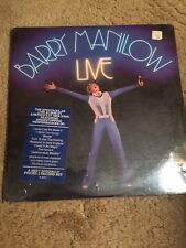 Barry Manilow Live Sealed Lp First Press With Hype