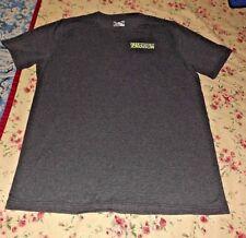 Under Armour Men's Dark Gray Loose Fit S/S Shirt Size Large Heatgear
