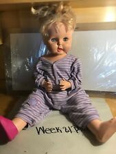 1964 Horsman Blonde-Blue Sleepy Eye Thirsty Walker TB-26 Vintage Doll