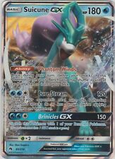 Pokemon TCG SM Lost Thunder 60/214 Suicune GX Holofoil Rare Card