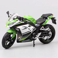 1/12 scale Kawasaki Ninja 300 250r Motorcycle diecast motorbike racing model toy
