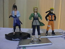 """NEW NARUTO SERIES Figure - A SET OF 3 PIECES - 3.00"""""""