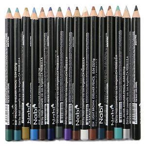 12pcs Nabi Eyeliner Pencils Set of 12 color