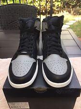 Nike Air Jordan 1 Retro High OG Shadow Black Soft Grey B Grade 555088 014 Sz 12