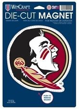 """Florida State Seminoles Official NCAA 6"""" X 9"""" Car Magnet FSU by WinCraft"""