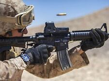 WAR MILITARY ARMY SOLDIER GUN RIFLE MARINE BULLET SHOOT POSTER PRINT BB3381A