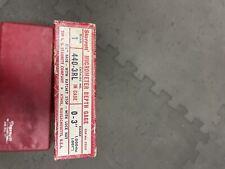 Starrett 440 3rl Micrometer Depth Gage 0 3 Range 001 In Original Box