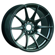 "XXR 527 17"" x 8.25J ET25 5x100 5X114 CHROMIUM BLACK SET OF 4 WHEELS"