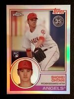 Shohei Ohtani RC 2018 Topps Chrome 35th Anniversary 83T-6 Los Angeles Angels ⭐️!