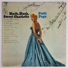 Patti Page Hush Hush Sweet Charlotte  Vinyl LP  CS 9153