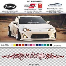 STANCEHOLIC ROYAL STANCE windshield windscreen car JDM Mugen decal sticker