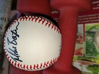 Mike Baxter MLB New York Mets Autographed Baseball Multiple Signatures v Brewers