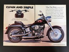 2000 Harley Davidson Fat Boy - Original 4 Page Article