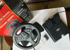 V3 Racing Wheel, Vintage Gaming Accessory, by InterAct in Original Box
