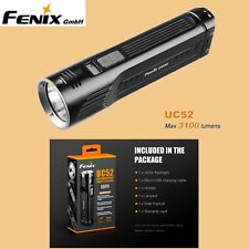 Fenix UC52 Cree XHP70 LED Taschenlampe Micro USB Holster 3100 Lumen OLED Display