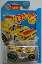 2015 Hot Wheels HW CITY Backdrafter 5/250 (Yellow Version)
