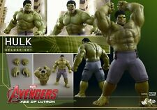 HOT TOYS MMS287 DELUXE HULK AVENGERS AGE OF ULTRON 1:6 FIGURE HULK MMS287 AOU