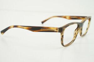 DOLCE & GABBANA DG 3144 2673 Matte Brown Marble 55-17-140 Eyeglasses NO LENS