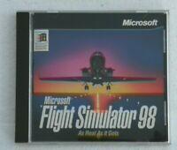 Microsoft Flight Simulator 98 CD-ROM PC Video Game Windows/Mac