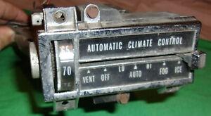 "1967 1968 CADILLAC ELDORADO DEVILLE OEM AUTOMATIC CLIMATE CONTROL UNIT ""AS IS"""