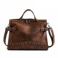 Travel Handbags For Women Casual Fashion Shoulder Bags Soft Solid Tote Bag Rivet