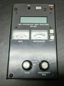 MFJ MFJ-269 HF/VHF/UHF SWR Analyzer