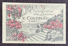 Carte Parfumée E. Coudray / Charme de France / Secret de Madame / Tyldis