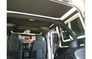JK 2007-2010 4 Door Headliner Including Side Panels (BLACK)