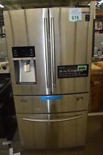 "Samsung RF28HMEDBSR 36"" Stainless French Door Refrigerator NOB #33561 CLN"