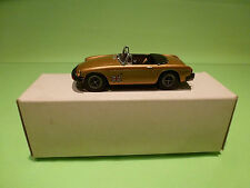 K & R REPLICAS 1:43 MGB MK4  RUBBER BUMBER  - IN ORIGINAL BOX  - GOOD CONDITION
