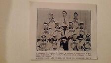 Schiele Bro. and Moreland Cigar Cordove Sacred Heart 1906 Baseball Team Picture